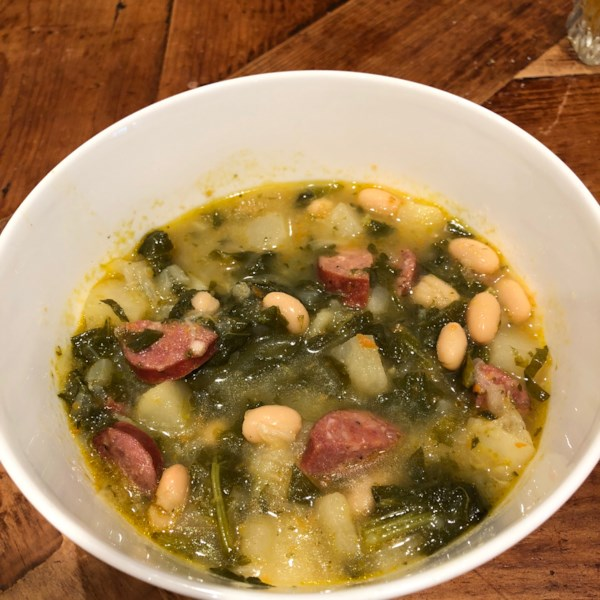 turnip green soup photos