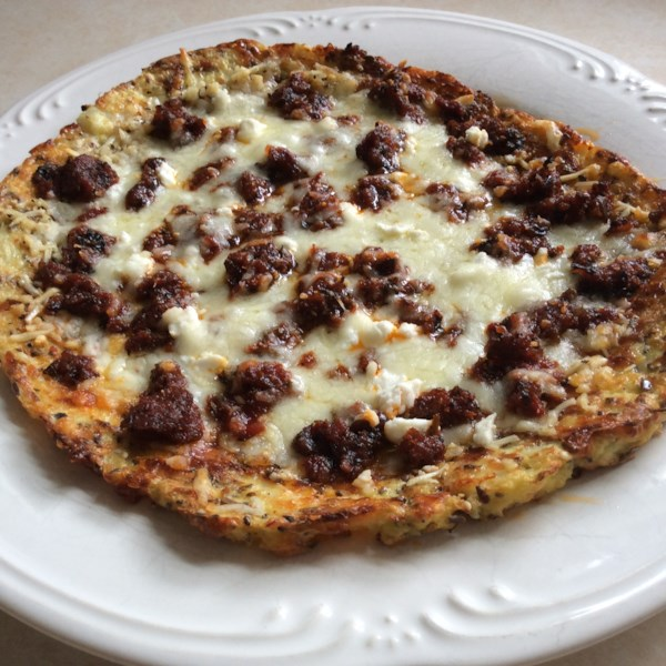 quick and easy cauliflower crust personal pizza photos