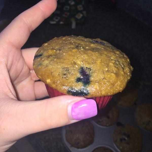 health nut blueberry muffins photos