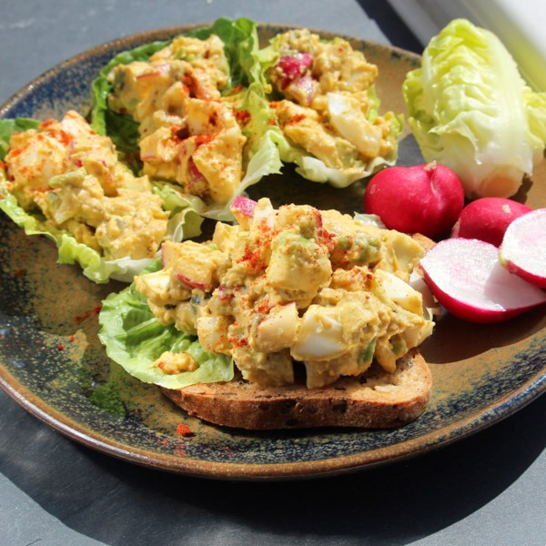 harissa egg salad photos