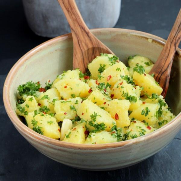 patate prezzemolate vegan italian potato salad photos