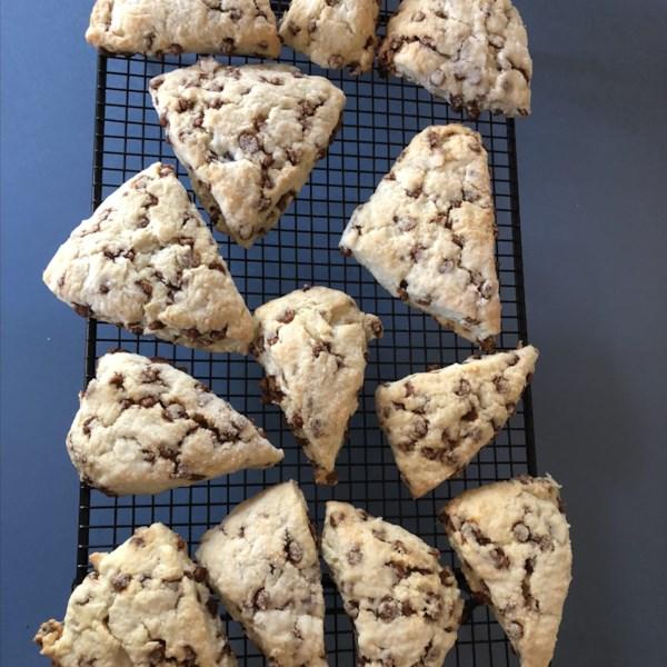 easy cinnamon chip scones photos