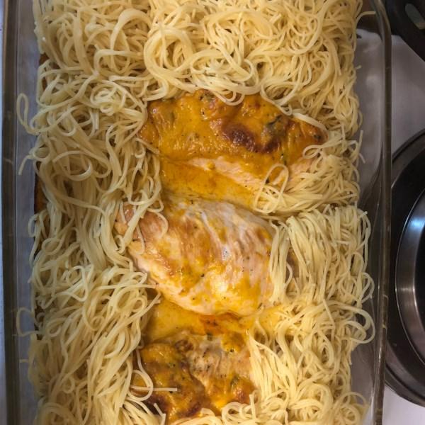 angel chicken pasta photos