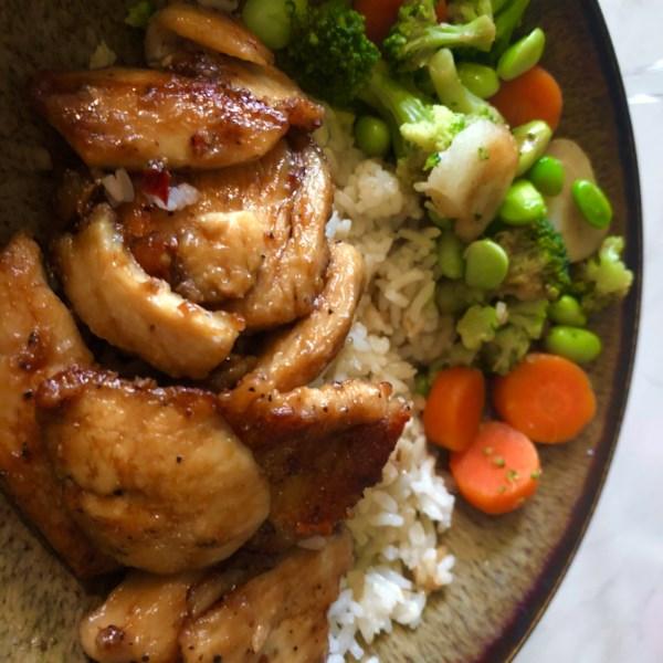 simple sauteed sesame chicken photos