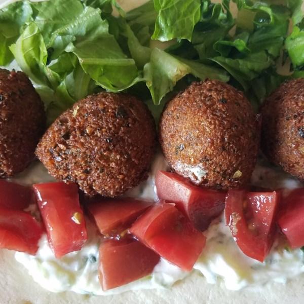 chef johns falafel photos