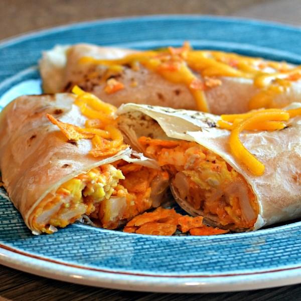 nacho daughter in laws cheesy breakfast burrito photos