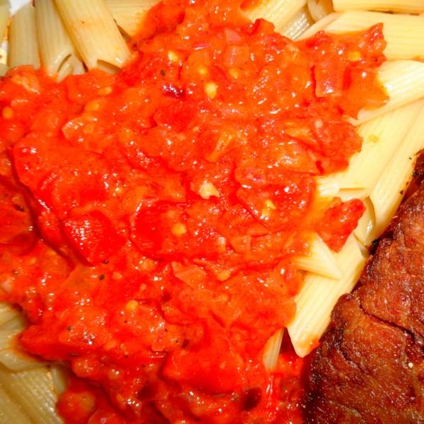 tomato cream sauce for pasta photos