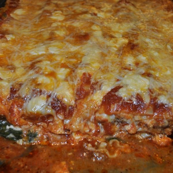 simple spinach lasagna photos