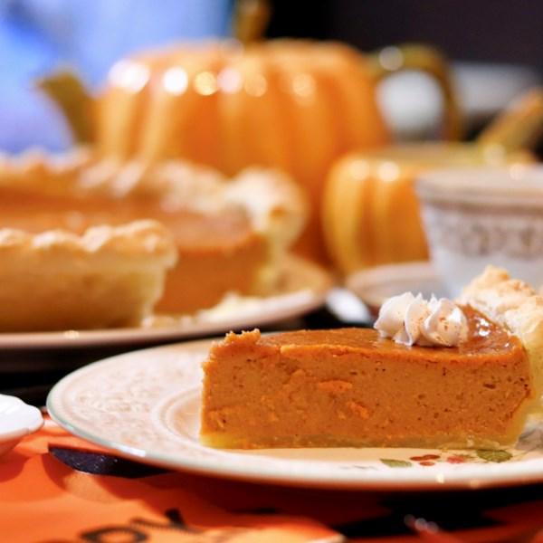 perfect pumpkin pie photos