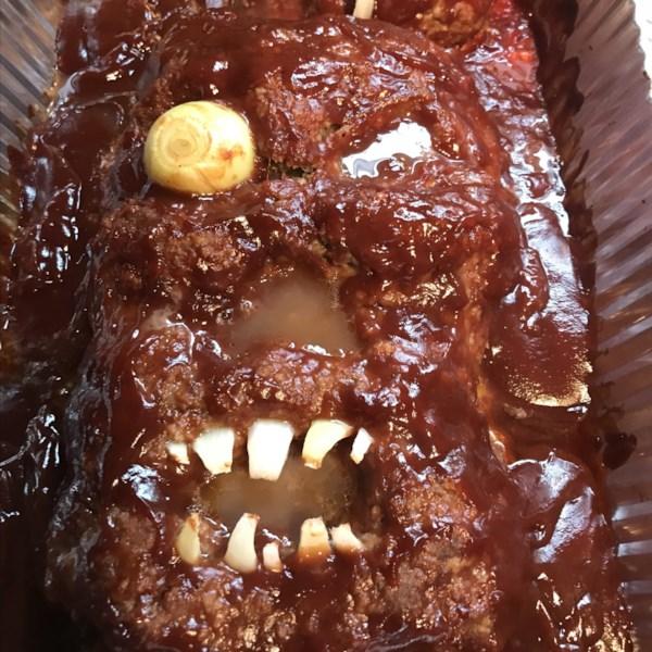 halloween zombie meatloaf photos