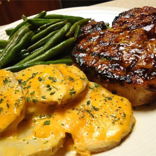 Grilled Brown Sugar Pork Chops Photos