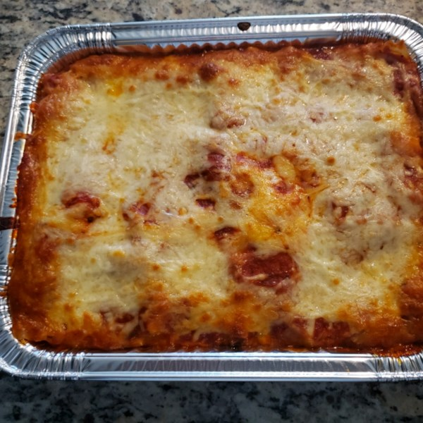 classic and simple meat lasagna photos