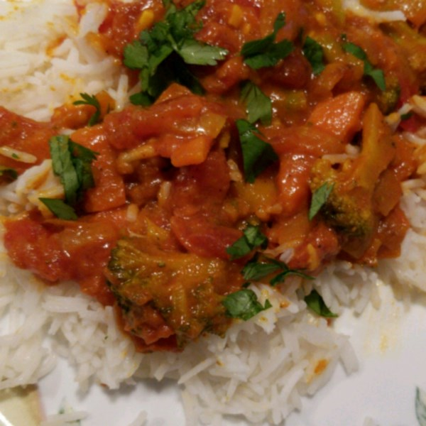 quick and easy vegetable curry photos