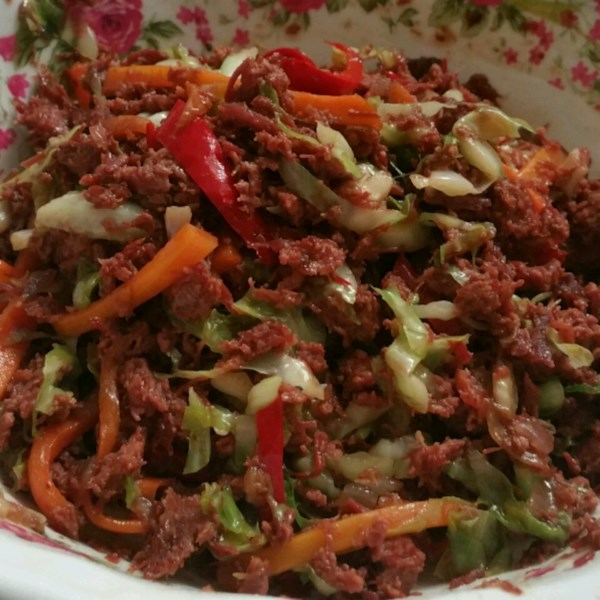 beef tip salad topping photos