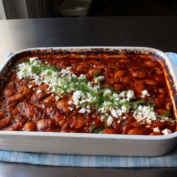 my big fat greek baked beans photos