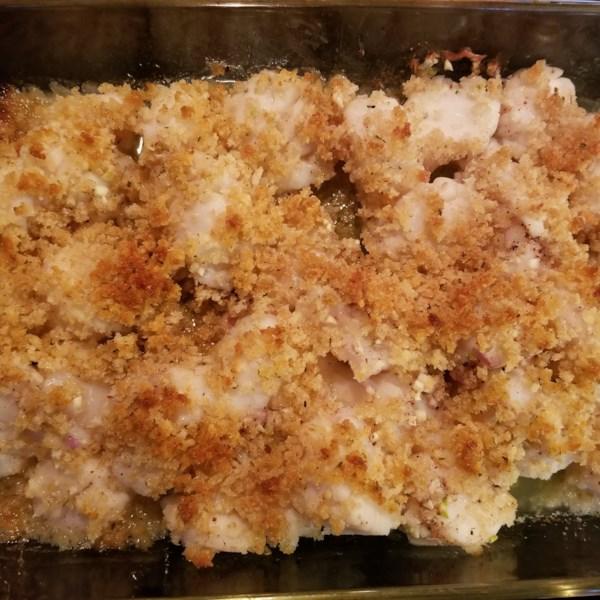 awesome baked sea scallops photos