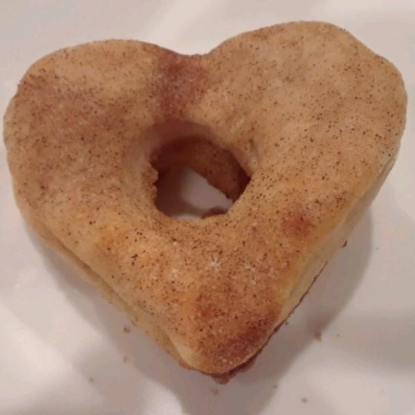 air fried cinnamon and sugar doughnuts photos