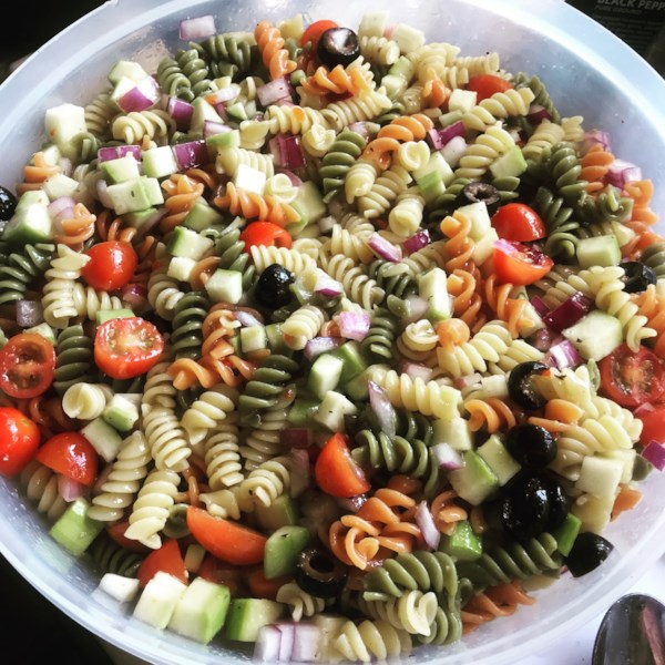 rainbow pasta salad ii photos