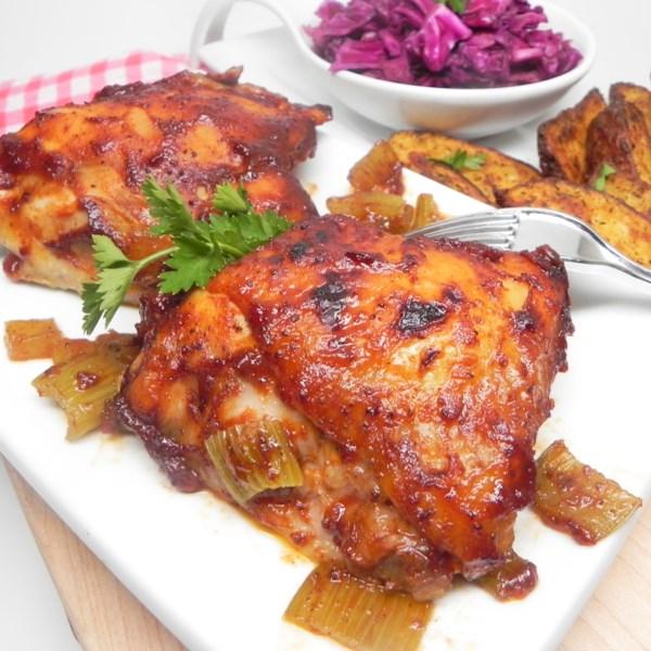 instant pot r bbq chicken thighs photos