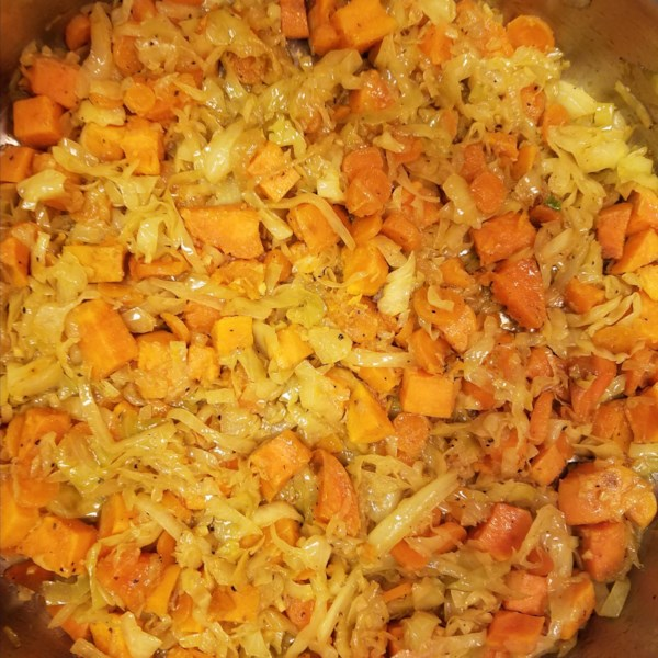 ethiopian cabbage dish photos