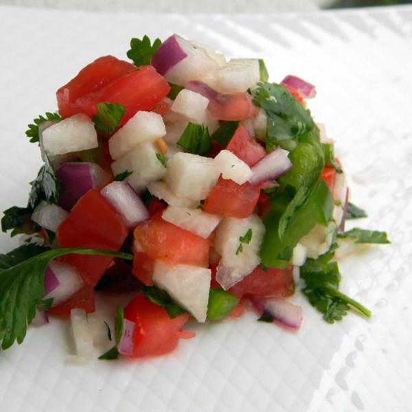 mikis jicama pico de gallo salsa photos