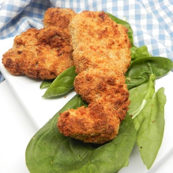 air fryer buttermilk fried chicken photos