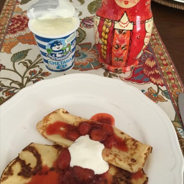 blini russian pancakes photos