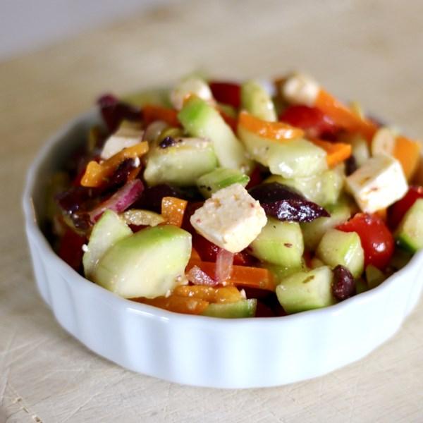 my big fat greek salad photos