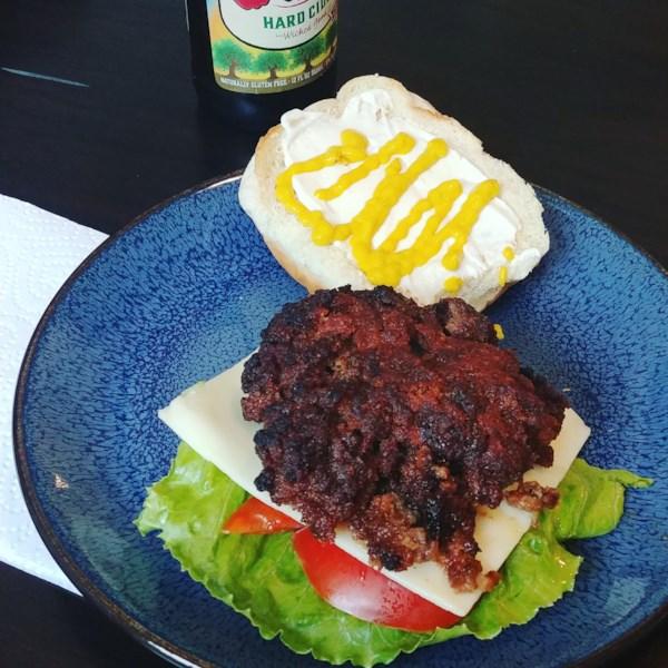 my husbands favorite baked burgers photos