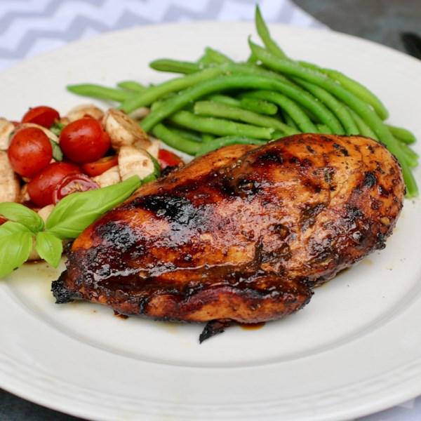 grilled balsamic chicken breast photos