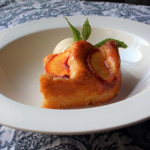 baltimore peach cake photos