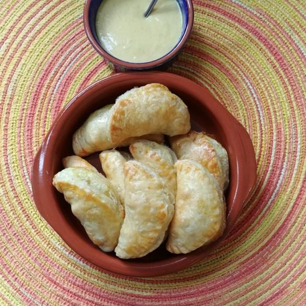 vegetable curry samosas photos