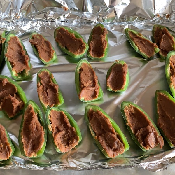 peanut butter stuffed jalapenos photos