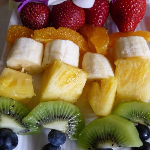 fruity fun skewers photos