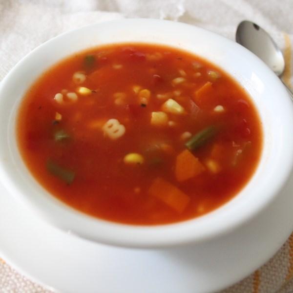 colenes easy tomato vegetable soup photos