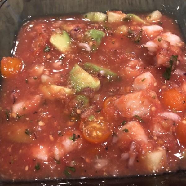 shrimp gazpacho photos