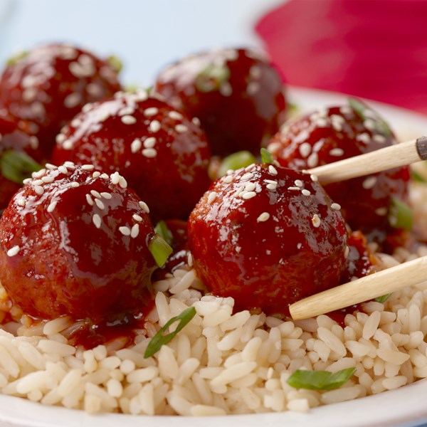 korean bbq meatballs photos