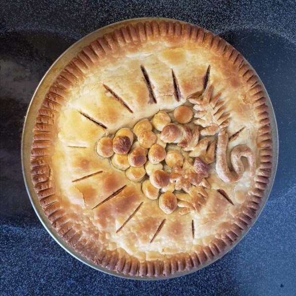 concord grape pie i photos