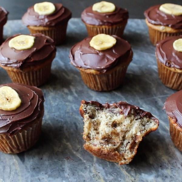 chunky monkey cupcakes photos