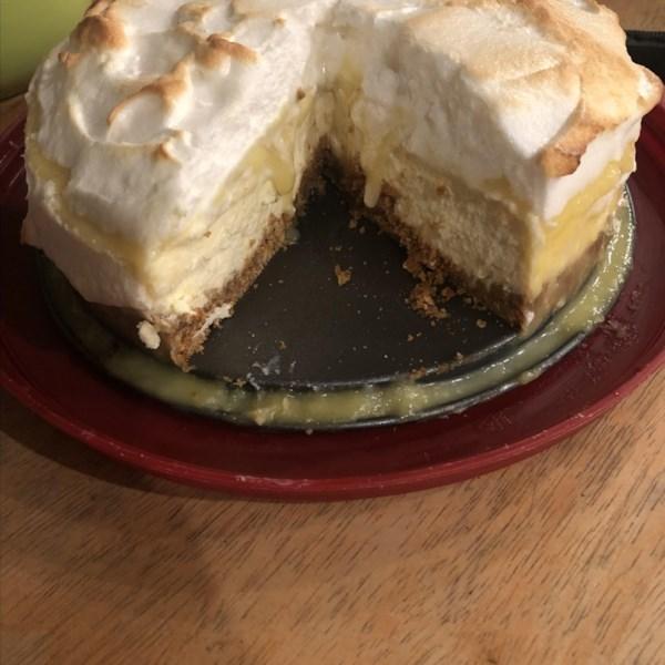 lemon meringue cheesecake photos