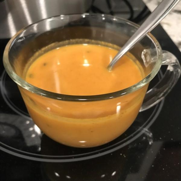 instant pot r keto pumpkin soup with sausage photos