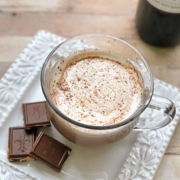 red wine hot chocolate photos