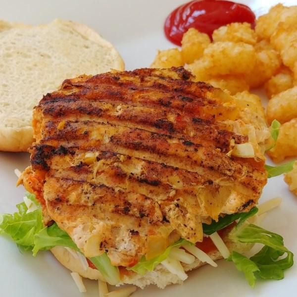 ground chicken taco burgers photos