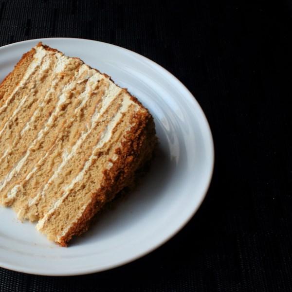 russian honey cake photos
