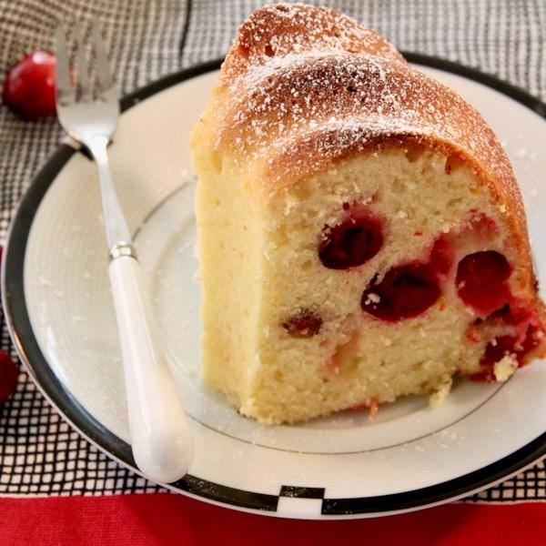 cranberry orange cake photos