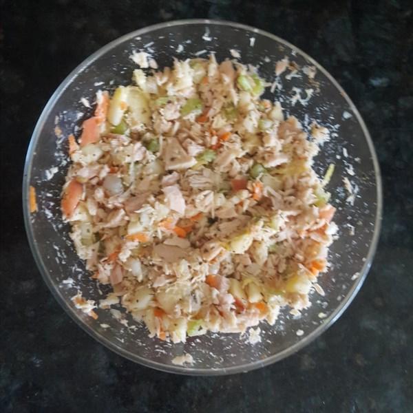 healthier mediterranean tuna salad photos