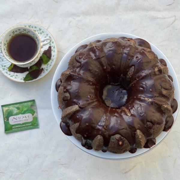 peppermint tea chocolate cake photos