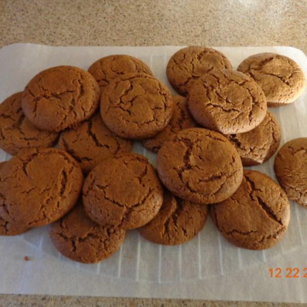 grandmas gingersnap cookies photos