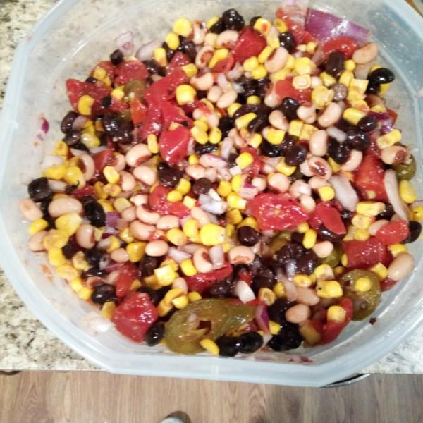 spicy bean salsa photos