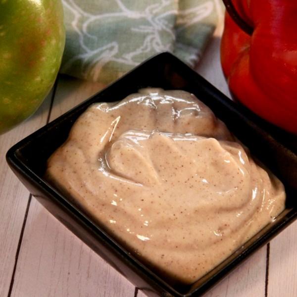 vanilla maple greek yogurt dip photos